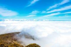 Ландшафт национального парка Haleakala, Мауи, Гаваи Стоковая Фотография RF