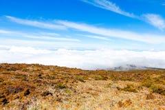 Ландшафт национального парка Haleakala, Мауи, Гаваи Стоковое Фото