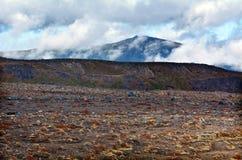Ландшафт национального парка Tongariro Стоковые Фотографии RF