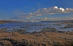 Ландшафт на бухте Португалии на полуострове Avalon в Ньюфаундленде, Канаде Стоковое фото RF