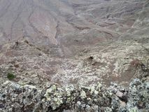 Ландшафт на Лансароте Стоковое фото RF