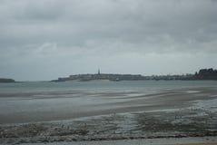 Ландшафт на Нормандии Стоковое фото RF