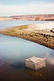 Ландшафт на тарифе клетки рыбной ловли Стоковое Изображение RF