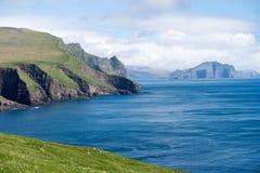 Ландшафт на Фарерских островах Стоковая Фотография