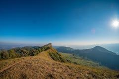 Ландшафт на Doi понедельнике Chong, Чиангмае, Таиланде Стоковое фото RF