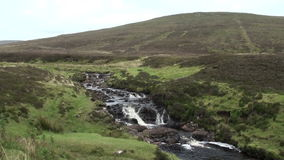 Ландшафт на penisnula Trotternish, Шотландии видеоматериал