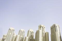 Ландшафт небоскребов Стоковое Изображение RF