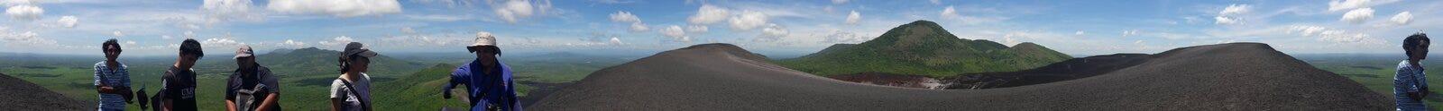 Ландшафт негра Cerro Стоковые Фотографии RF