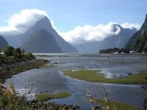 Ландшафт Новая Зеландия Стоковое фото RF