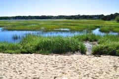 Ландшафт Новой Англии Стоковые Изображения RF