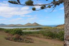 Ландшафт Новой Каледонии Стоковые Изображения RF