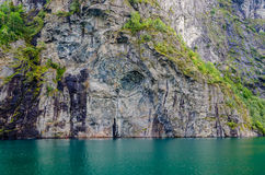 Ландшафт Норвегии стоковое фото