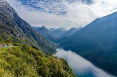 Ландшафт Норвегии стоковое изображение rf