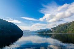Ландшафт Норвегии стоковые изображения rf
