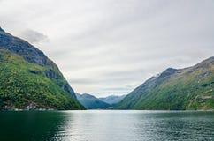 Ландшафт Норвегии стоковая фотография rf