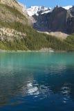 Ландшафт озера морен альбатроса Канада стоковое изображение