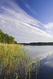 Ландшафт озера Стоковые Фотографии RF