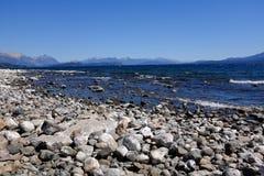 Ландшафт озера Nahuel Huapi в Аргентине Стоковое фото RF