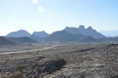 Ландшафт Омана Стоковая Фотография RF