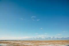 Ландшафт дороги Стоковая Фотография RF