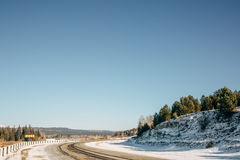 Ландшафт дороги Стоковое фото RF