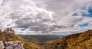 Ландшафт осени Аппалачи стоковое фото