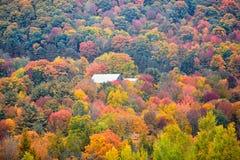 Ландшафт осени в Вермонте Стоковое Изображение RF