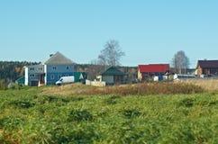 Ландшафт осени сельский Стоковое Фото