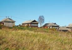 Ландшафт осени сельский Стоковые Изображения