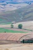 Ландшафт осени Тосканы стоковые фото