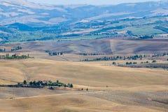 Ландшафт осени Тосканы стоковое изображение rf