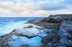 Ландшафт острова Эльютеры стоковая фотография