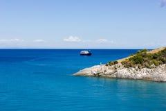 Ландшафт острова zante, Греции Стоковые Изображения