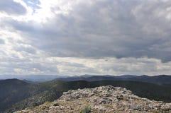 Ландшафт от вершины утеса Стоковая Фотография