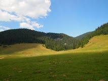Ландшафт от гор Apuseni, Bihor County, Румыния, Европа Стоковая Фотография