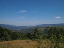 Ландшафт от гор Apuseni, Bihor County, Румыния, Европа Стоковые Фото