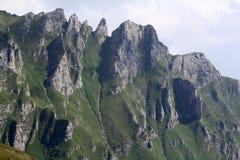 Ландшафт от гор Bucegi Стоковые Изображения RF