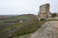 Ландшафт от замка Сан Esteban de Gormaz Стоковое фото RF