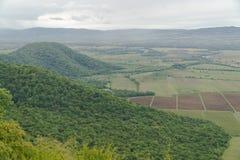Ландшафт от монастыря Nekresi Kakheti, Georgia Стоковые Изображения