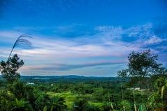 Ландшафт от холма Стоковое Изображение RF