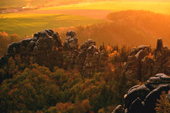 Ландшафт долины стоковые фото