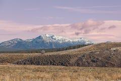 Ландшафт долины Hayden Стоковое фото RF