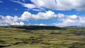 Ландшафт долины Lakagigar стоковые изображения