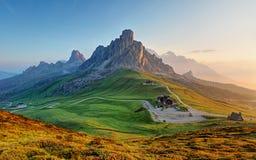 Ландшафт доломитов Стоковые Фотографии RF