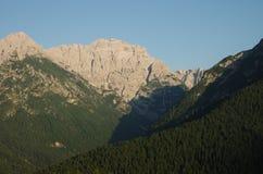 Ландшафт доломитов Стоковые Фото