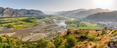 Ландшафт Пакистан Сват Стоковые Изображения RF