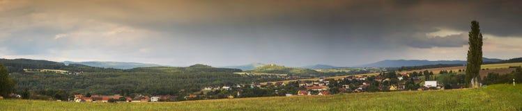 Ландшафт панорамы Стоковые Изображения