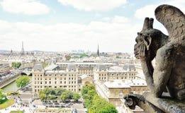 Ландшафт Парижа Стоковые Изображения RF