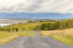 Ландшафт после добычи угля, большой части, чехии Стоковые Изображения