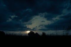 Ландшафт полей и лугов Стоковые Фотографии RF